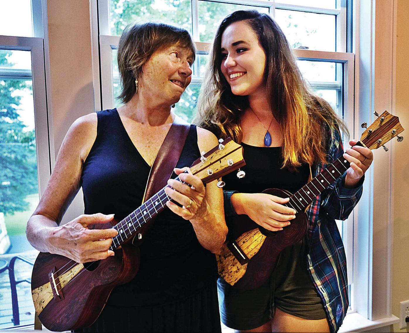 Ladies Auxiliary Ukulele Orchestra: A family affair
