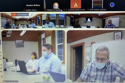 Berkshire Hills School Committee meeting over Zoom (copy)