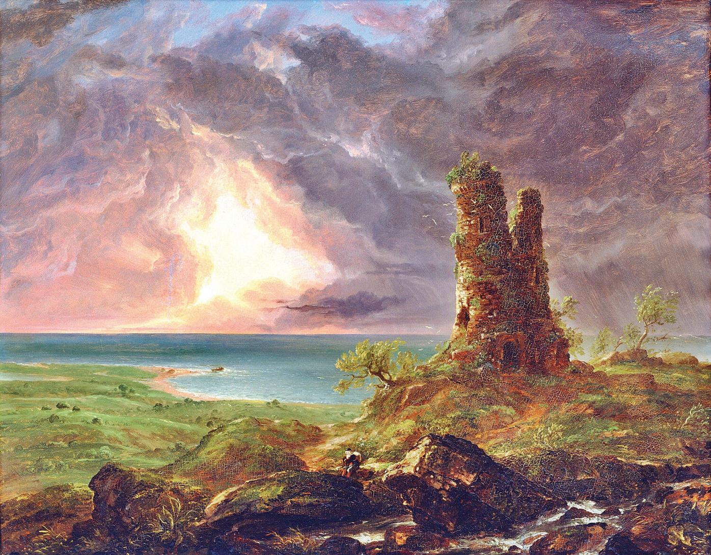 Understanding American art by looking across the pond