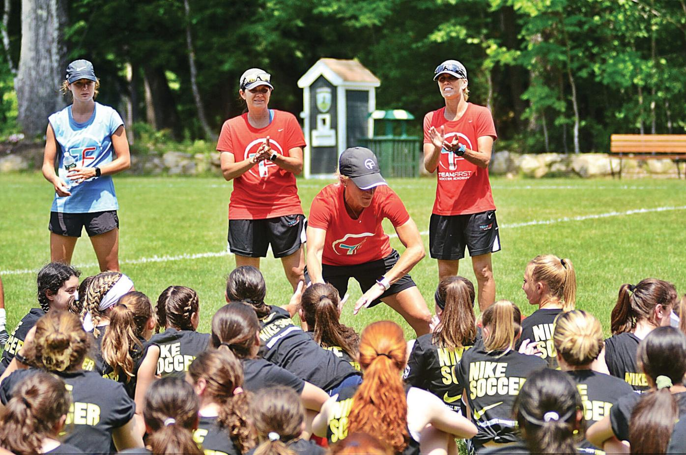 World Cup winners come to Berkshires for soccer camp