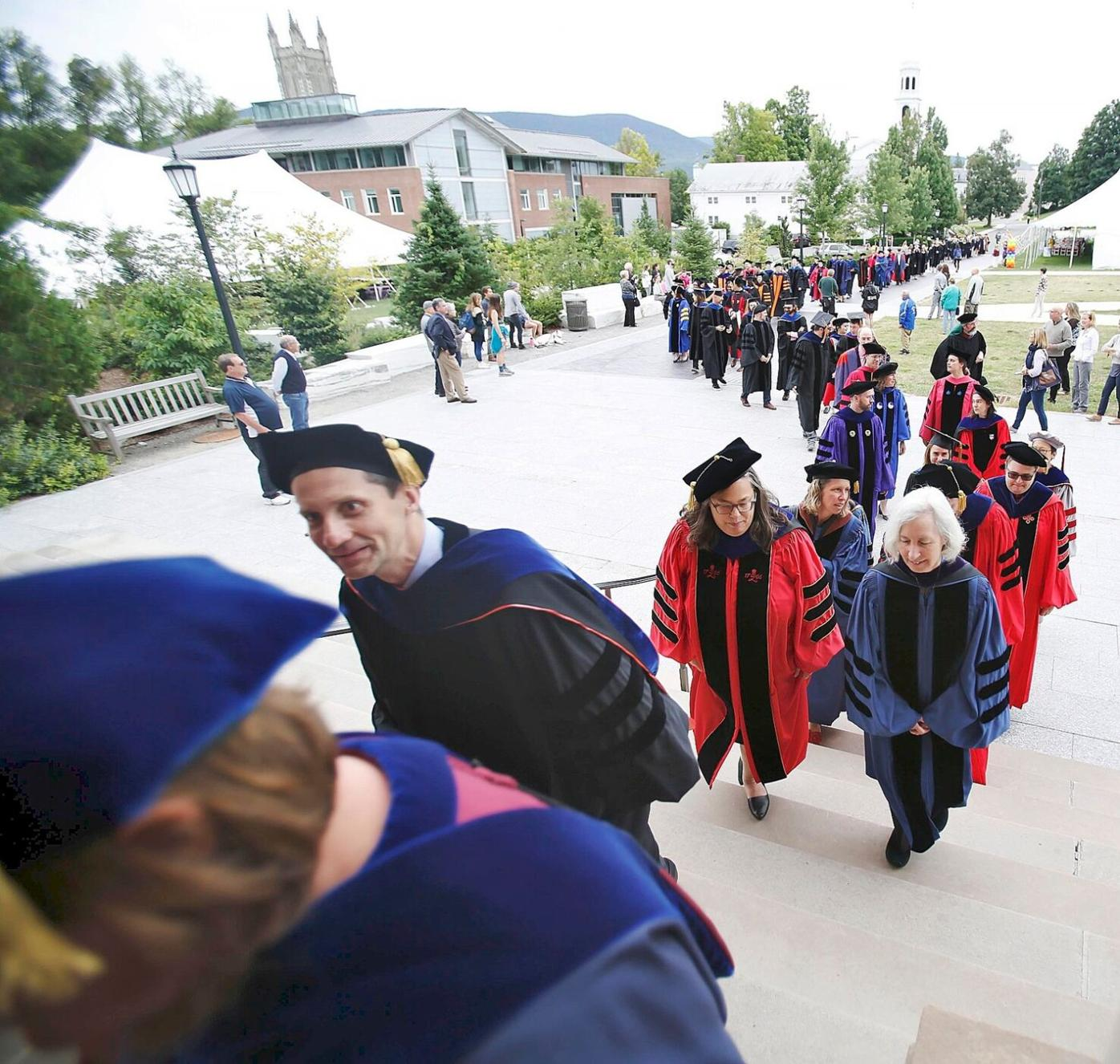 New Williams College president 'connected to those who found freedom and to those it was denied'
