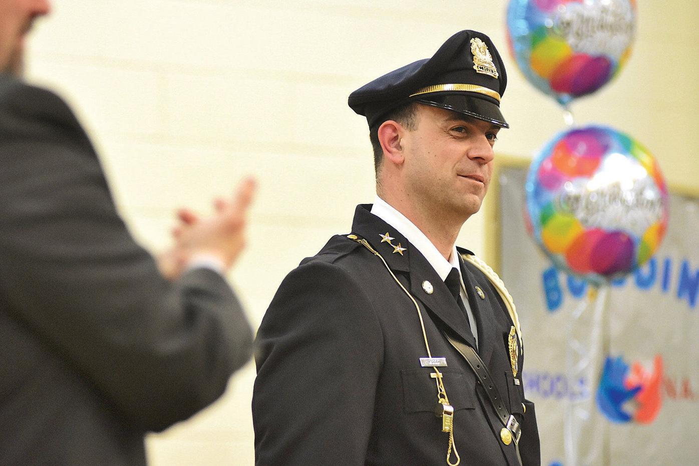 New North Adams police chief calls show of support 'pretty amazing'