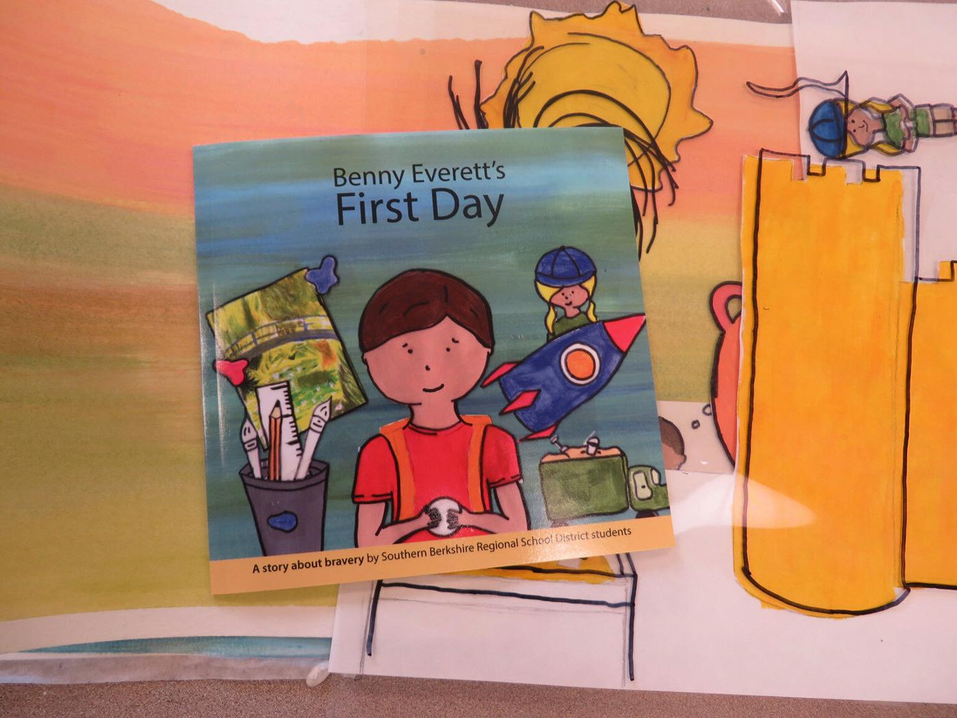 Mount Everett students collaborate on children's book
