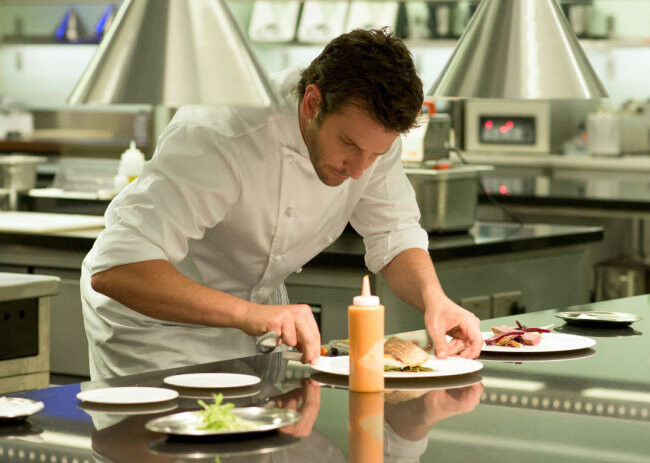 """Making """"Burnt"""" was a hands-on experience for Bradley Cooper"""