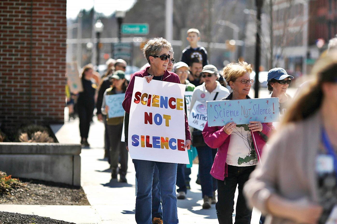 At River Walk march, participants matter-of-fact in their beliefs on science