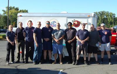 Dalton firefighters pose