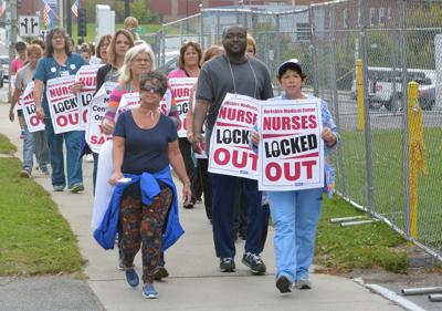 As lockout of nurses at BMC ends, issues remain at bargaining table