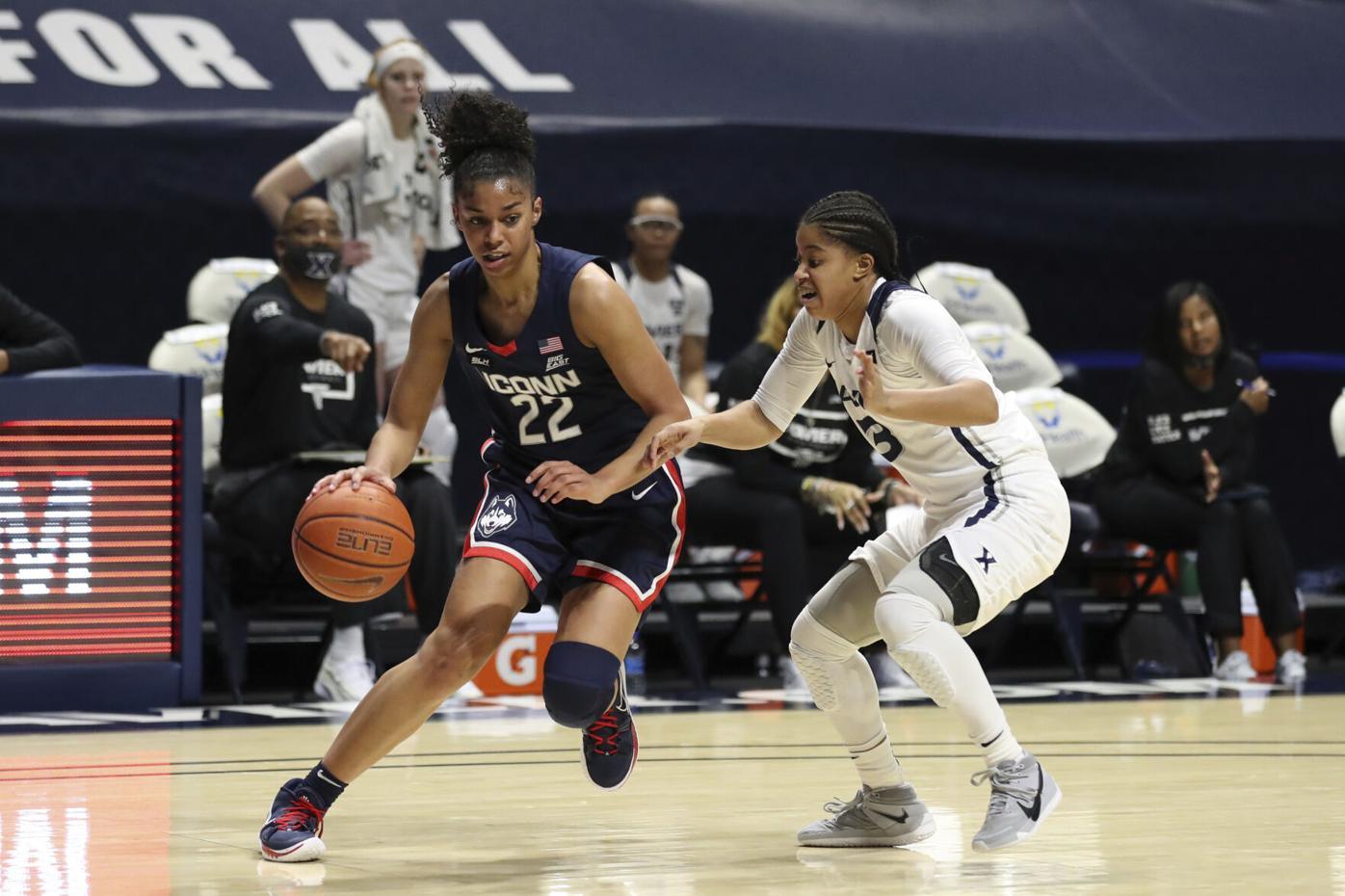 UConn Xavier Basketball