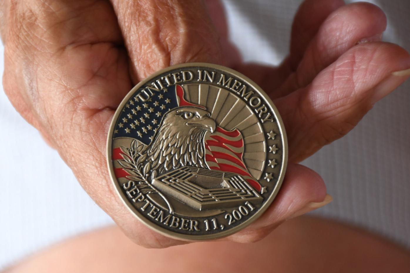 front side of medal