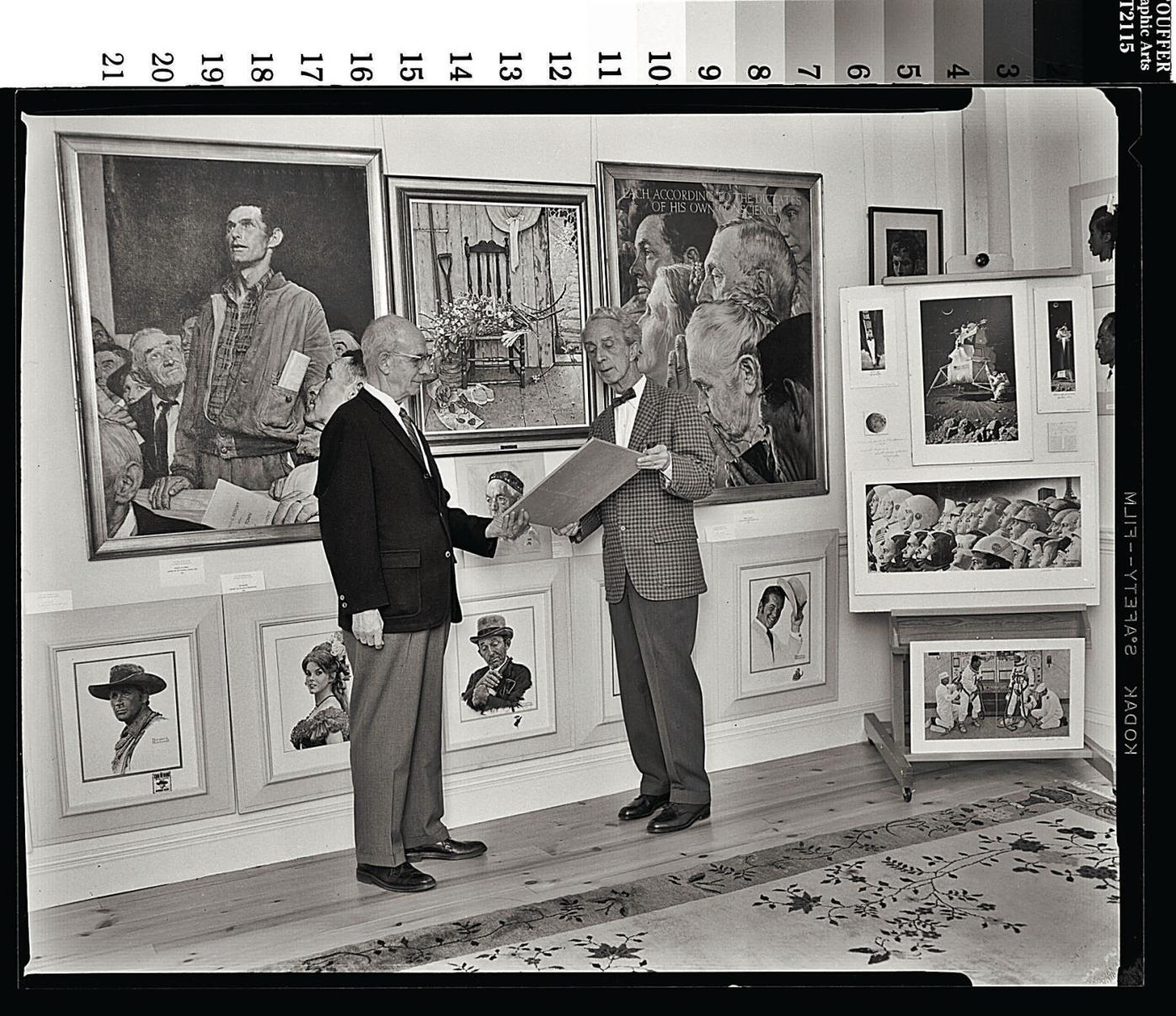 A friendship framed by art: Planned sale of paintings strains bond between Berkshire Museum and Norman Rockwell's world