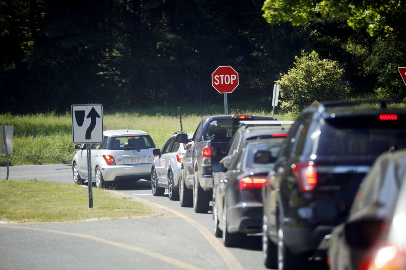 Monument Mountain School Traffic