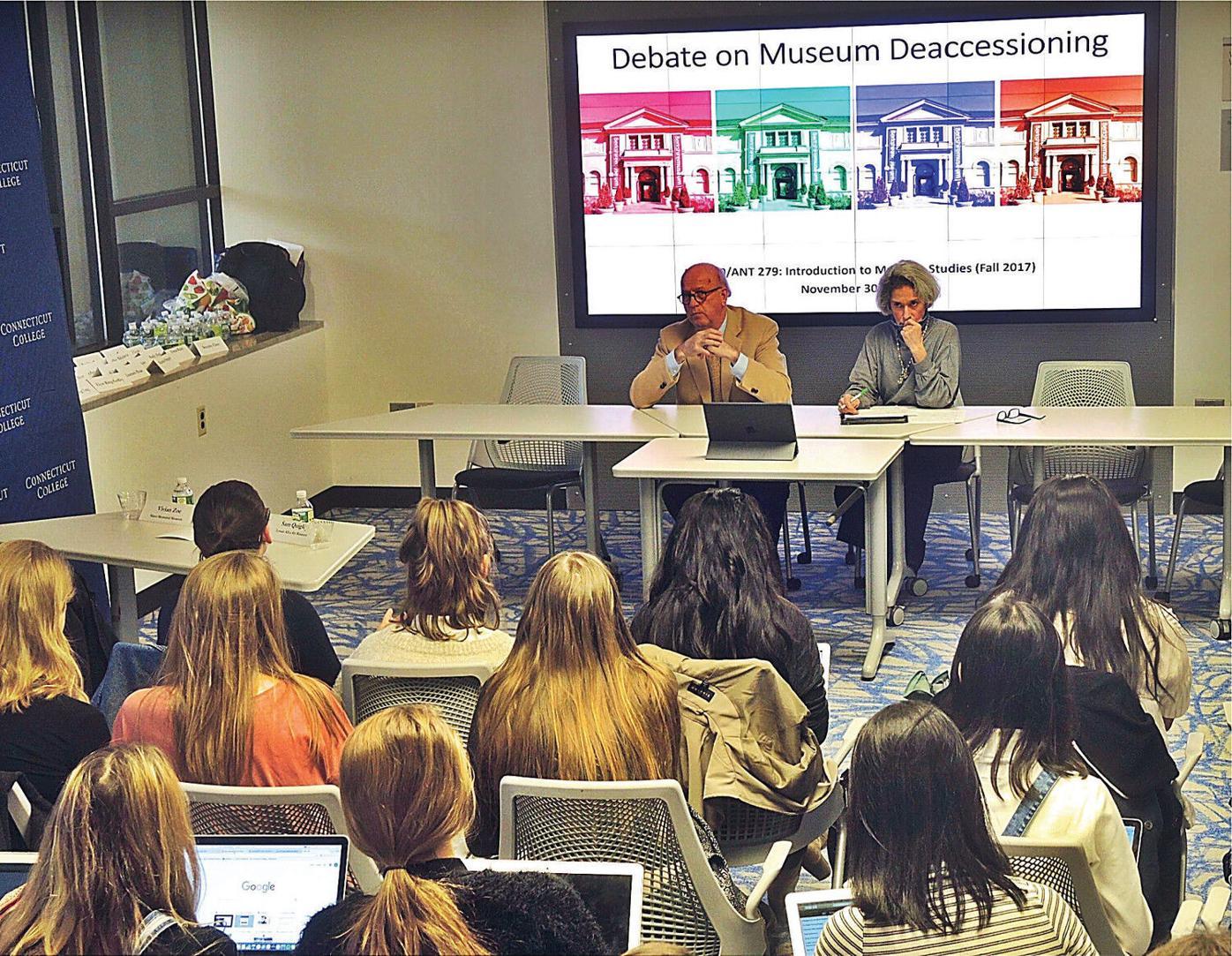 Connecticut College museum studies students debate Berkshire Museum art sale