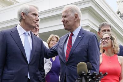 Biden with Republicans