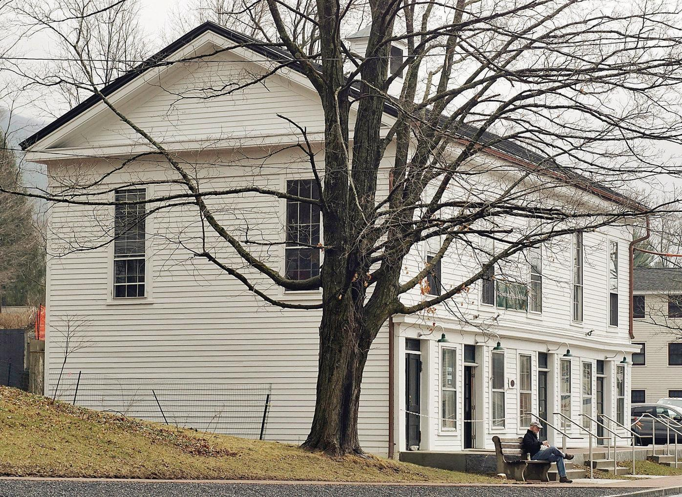 Cleanup almost complete after oil spill at Old Town Hall in West Stockbridge
