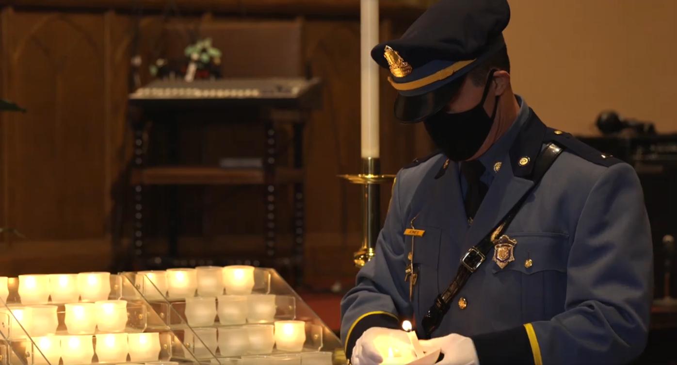 Lt. Jones vigil screenshot