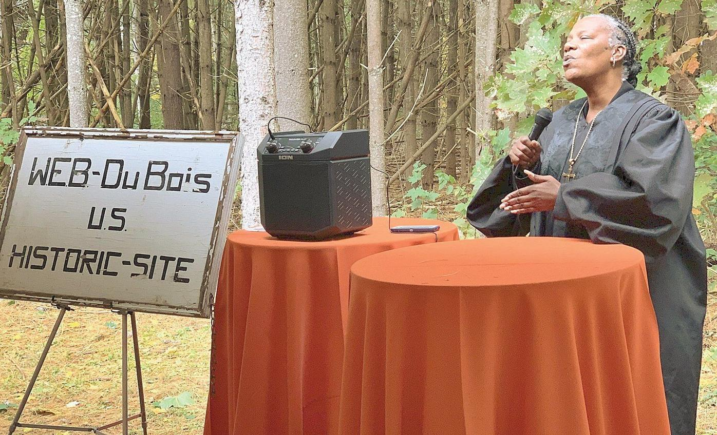 'Sacred ground': Event pays tribute to 1969 dedication of Du Bois memorial