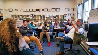 Hardman Journalists-in-Residence: At MCLA, Stanmeyers bring journalism into focus (copy)
