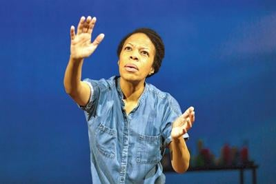 Review: At Hartford Stage, a vortex named Nilaja Sun