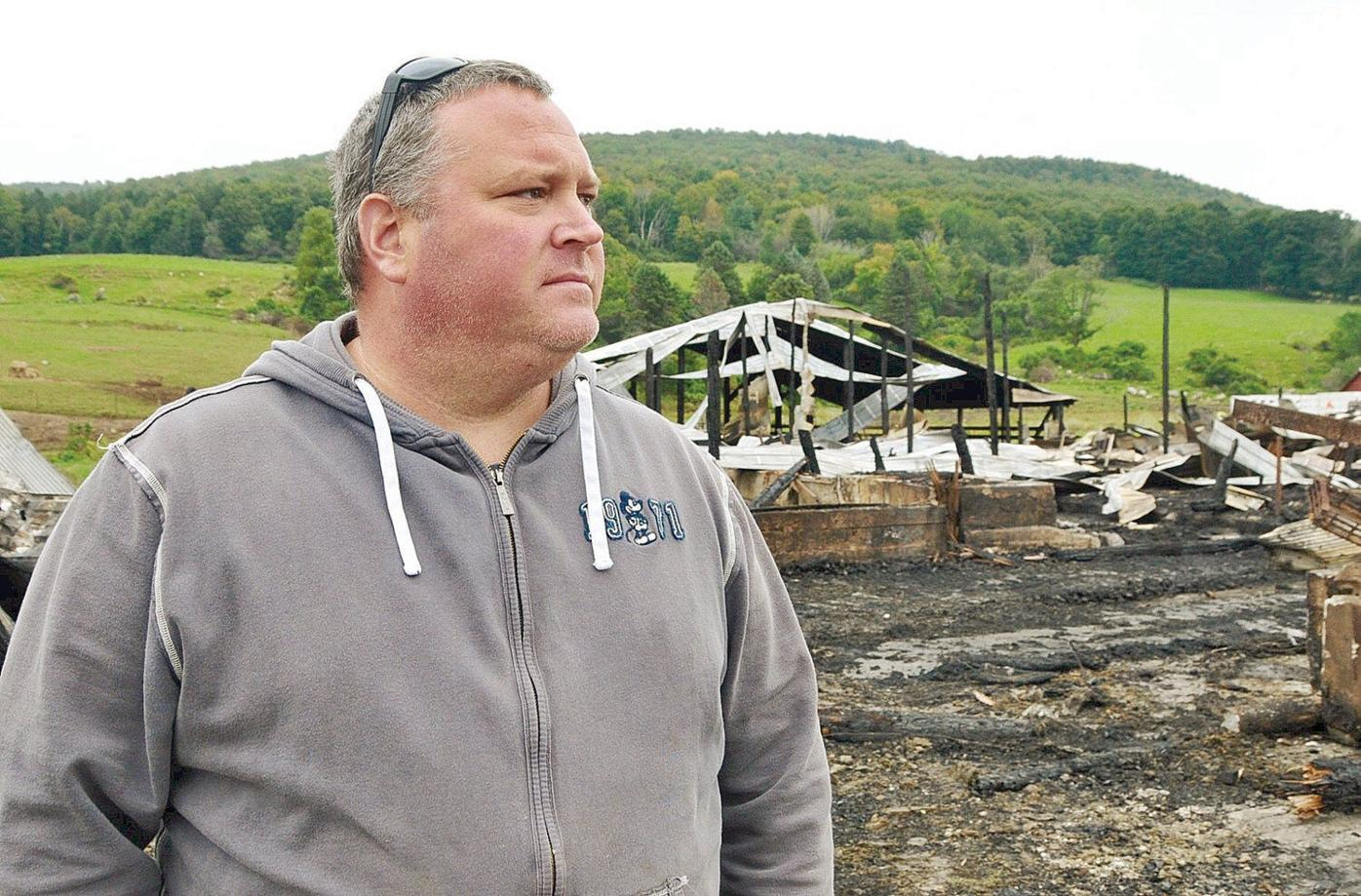 After smoke clears on Adams farm, an uphill battle to stay afloat