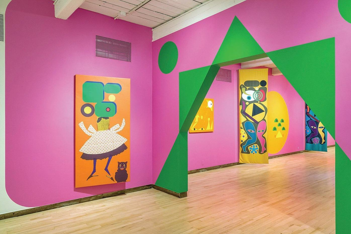 'Cartoon' has new meaning in carnival-like exhibition at Mass MoCA