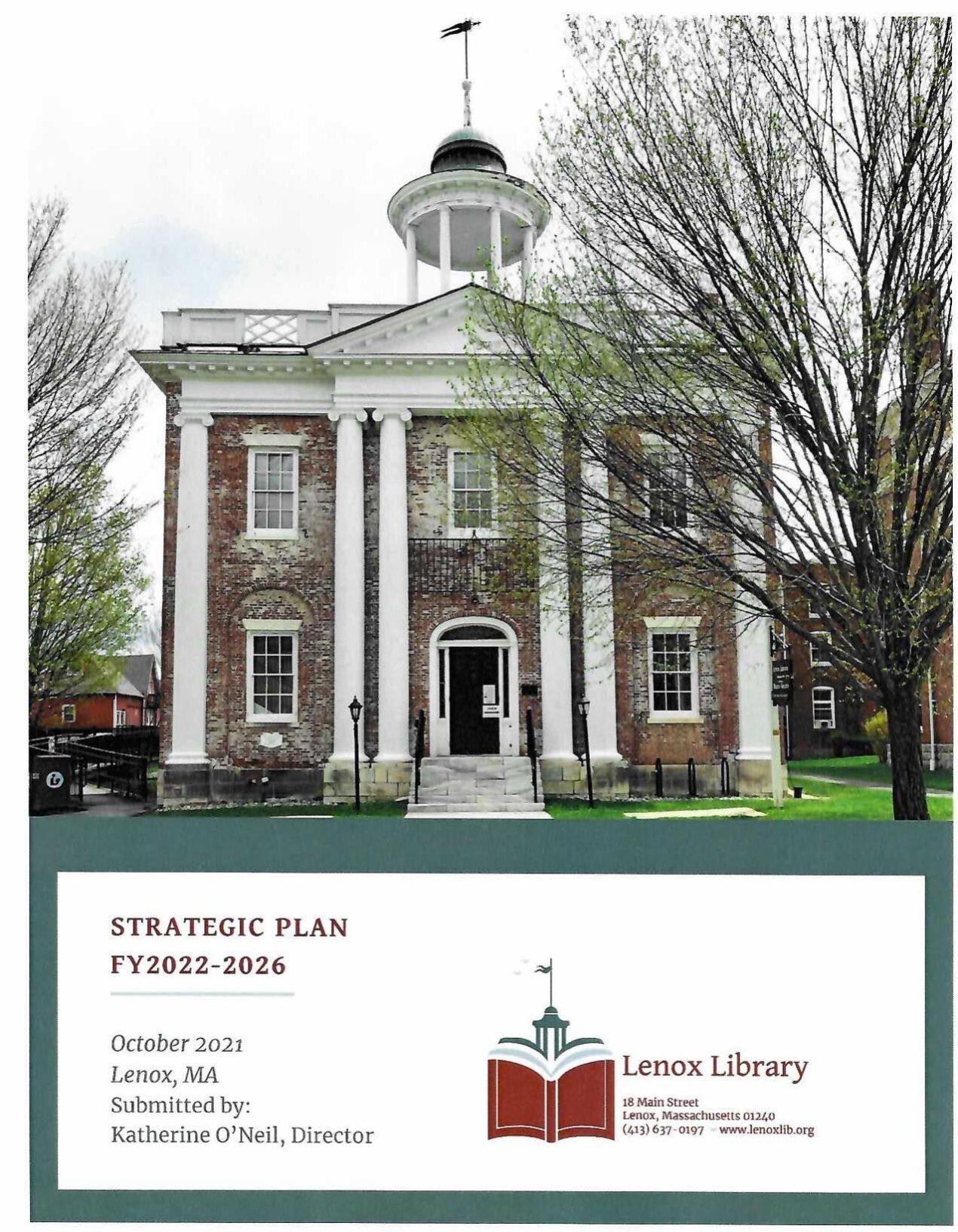 lenox library plan