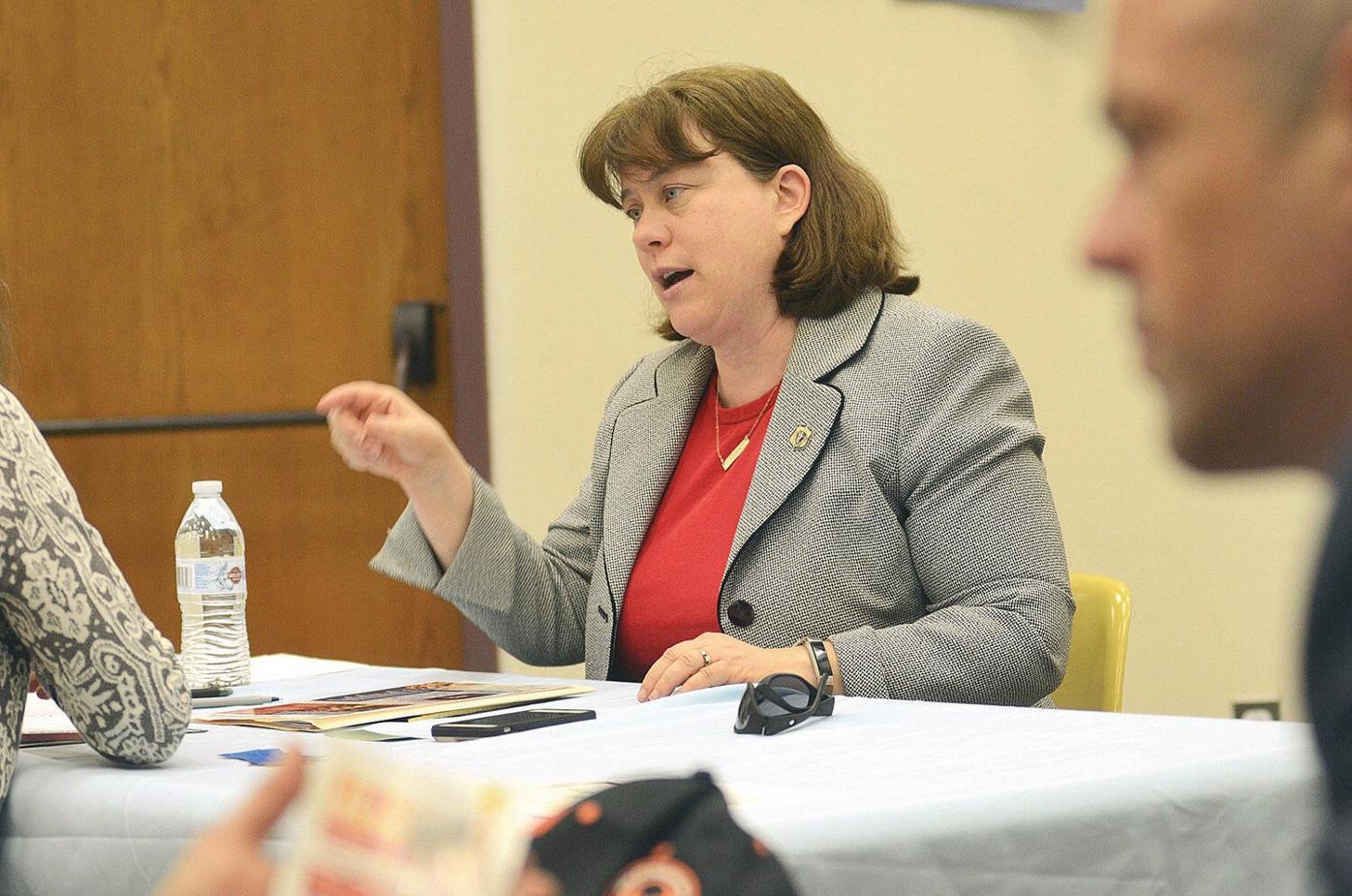 Farley-Bouvier guides Progressive Caucus after co-chair's defeat (copy)