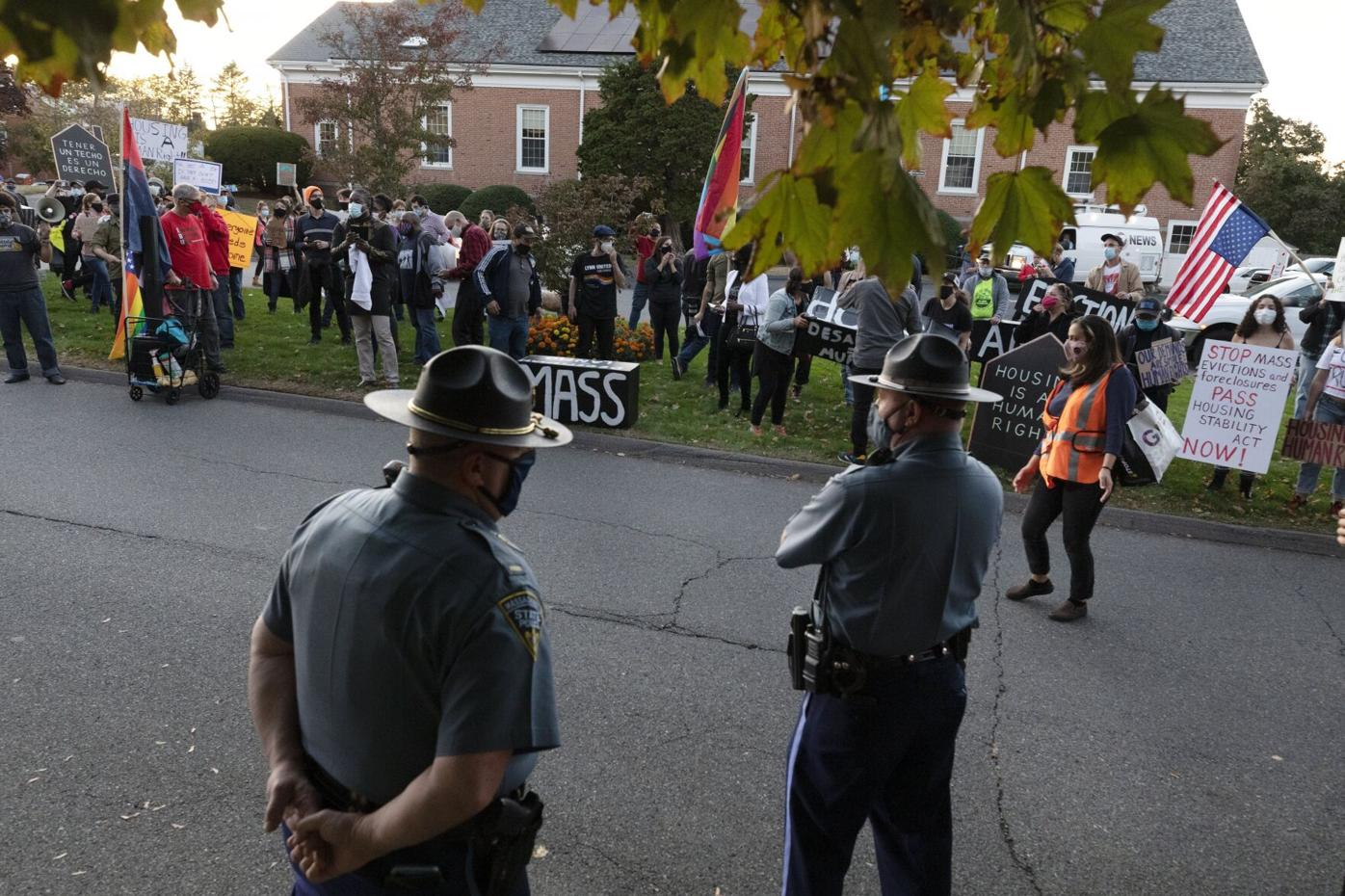 Virus Outbreak Evictions Massachusetts