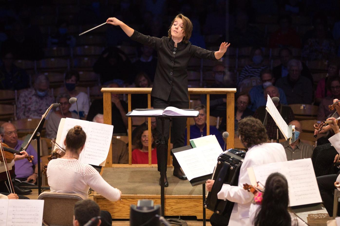 BSO Assistant Conductor Anna Rakitina