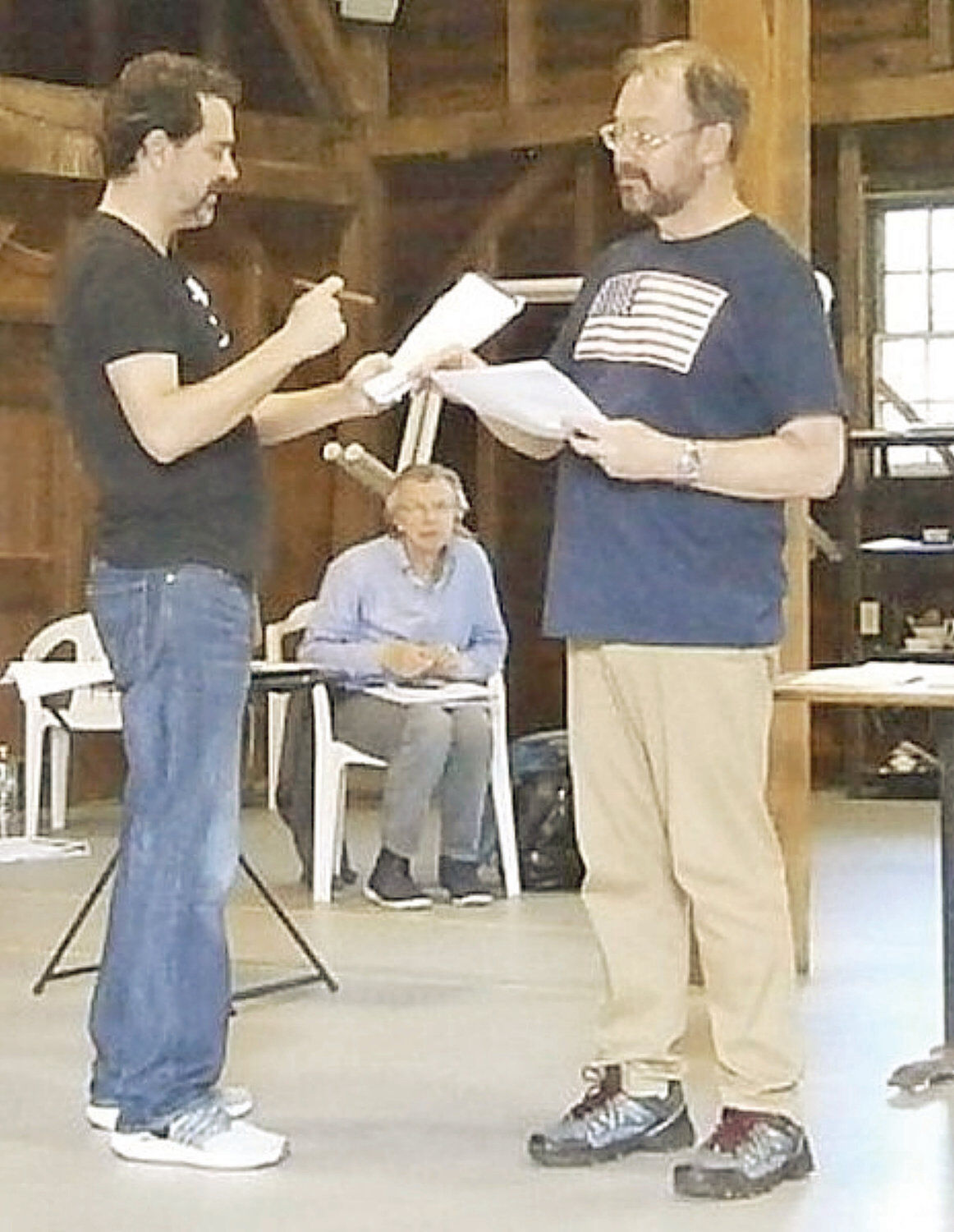 Two rock stars of the Gilded Age, Ulysses S. Grant and Mark Twain, forge a bond in a new play at PS21