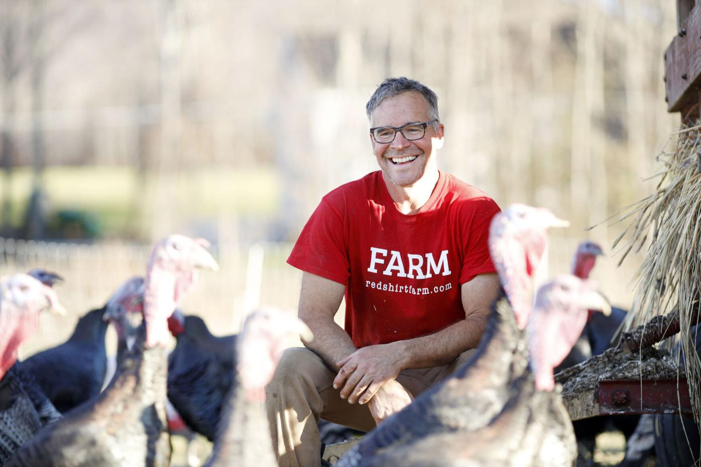 Red Shirt Farm Turkeys