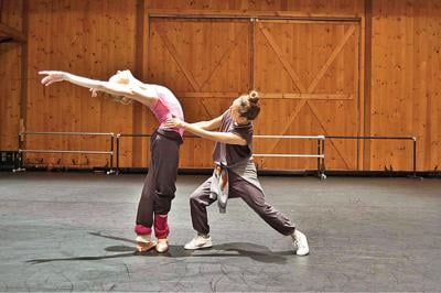 What do you get when you put a ballerina with two hip-hop dancers?