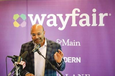 Wayfair CEO returns home to celebrate opening of new Pittsfield call center