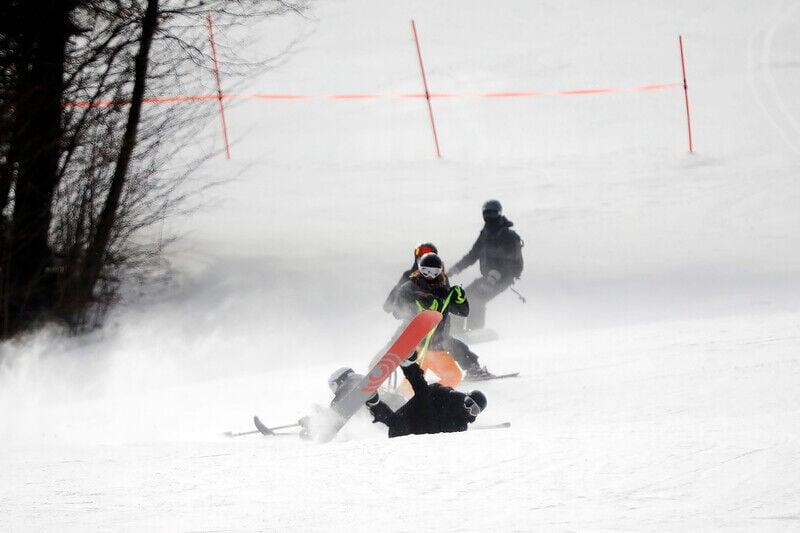 Stride ski