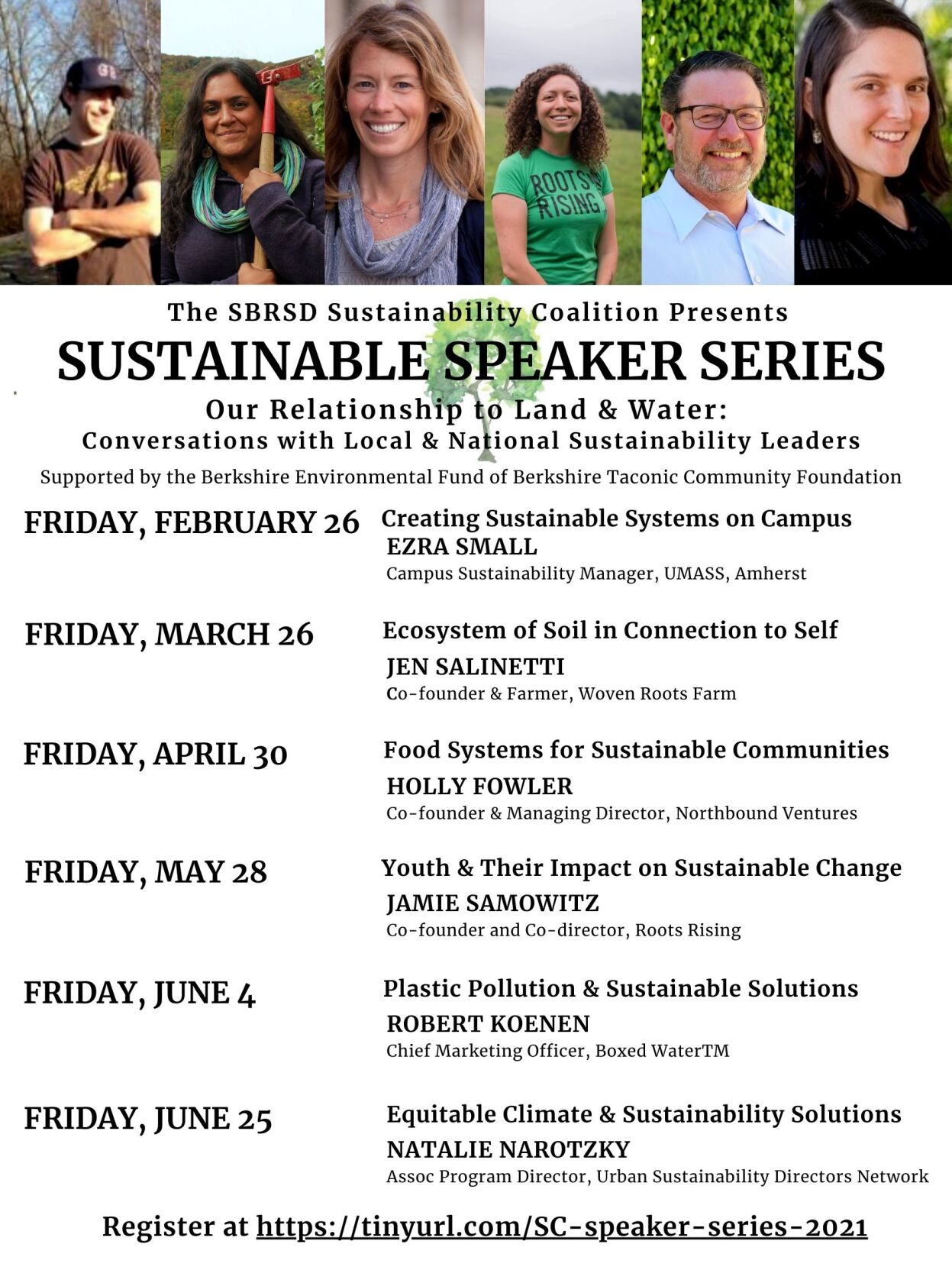 Sustainability speakers