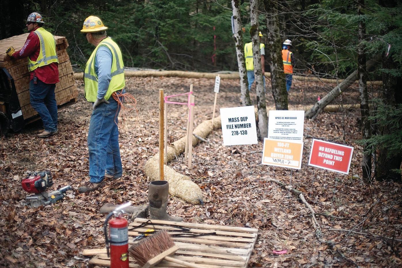Massachusetts PipeLine Awareness Network seeks rehearing by FERC, asks for stay of construction in Otis State Forest