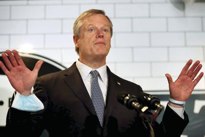 Baker urges low-risk districts with virus cases not to close hastily