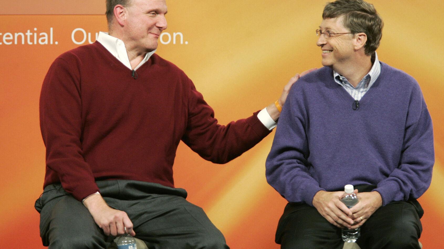 Bill Gates, Steve Ballmer