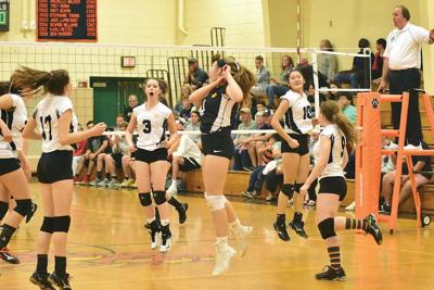 Lee volleyball dominates in rivalry sweep of Lenox