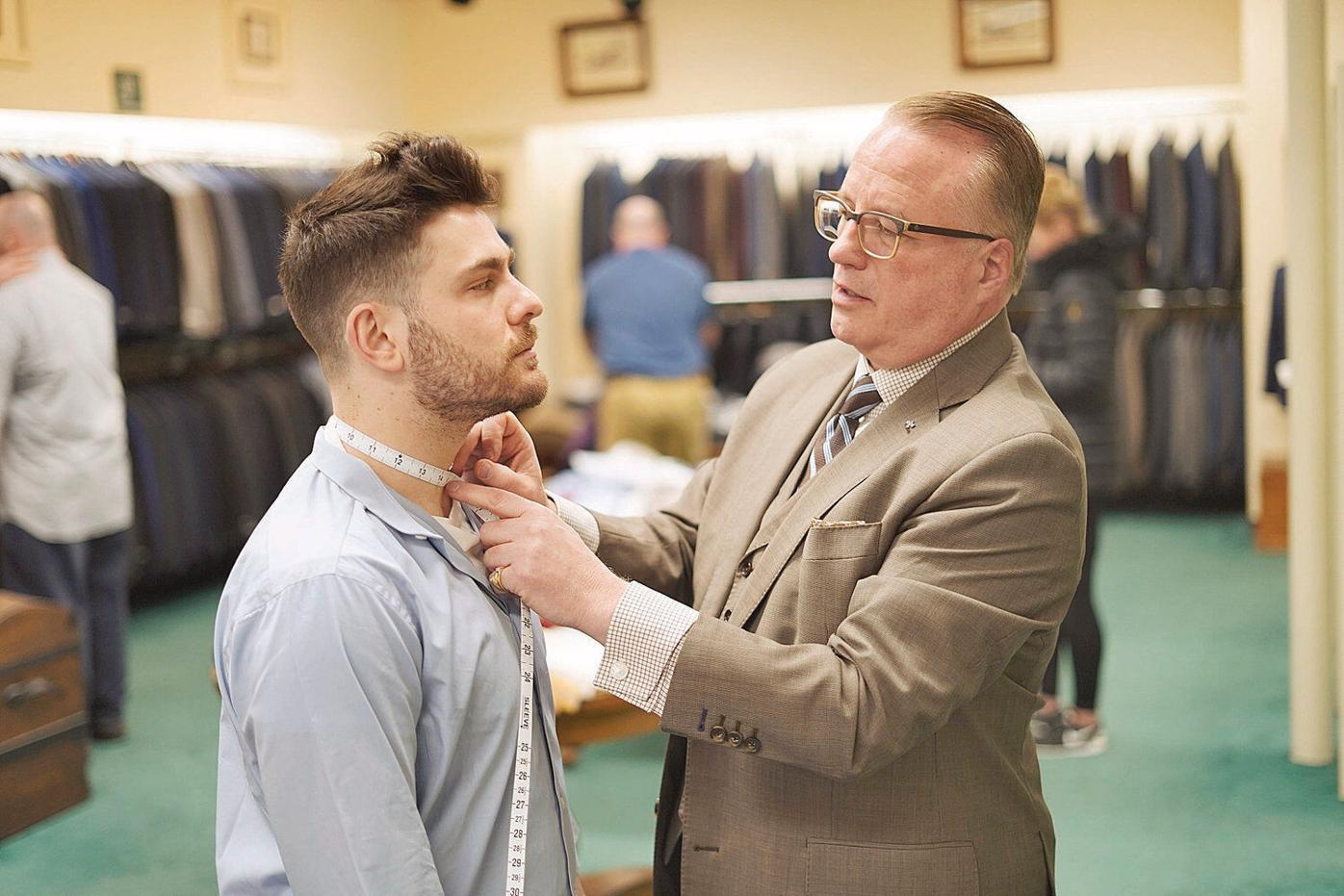 North St. clothing store tries on a new trend: Custom-made dress shirts