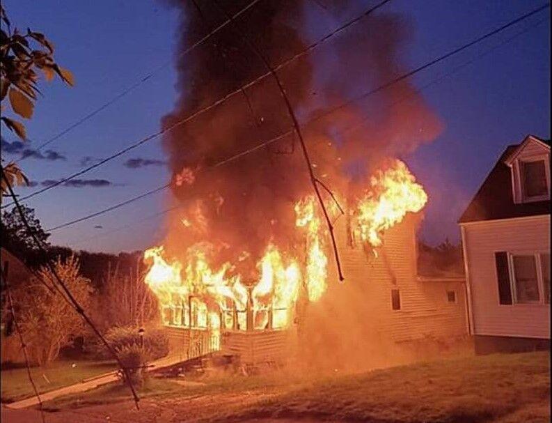 Pitt fire