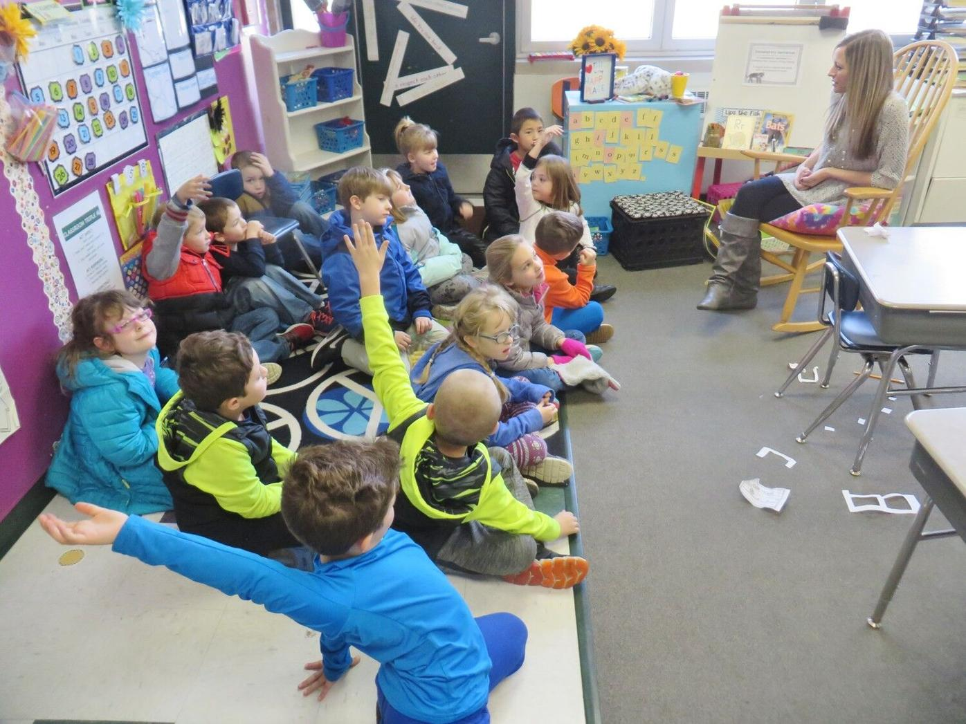 Classroom of the Week: Allendale first-graders work together to build their skills