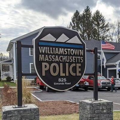 Williamstown Police Station sign (copy)