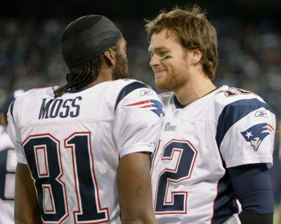 Tom Brady, Randy Moss