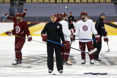 2021 NCAA Division I Men's Ice Hockey Championship - Practice Day