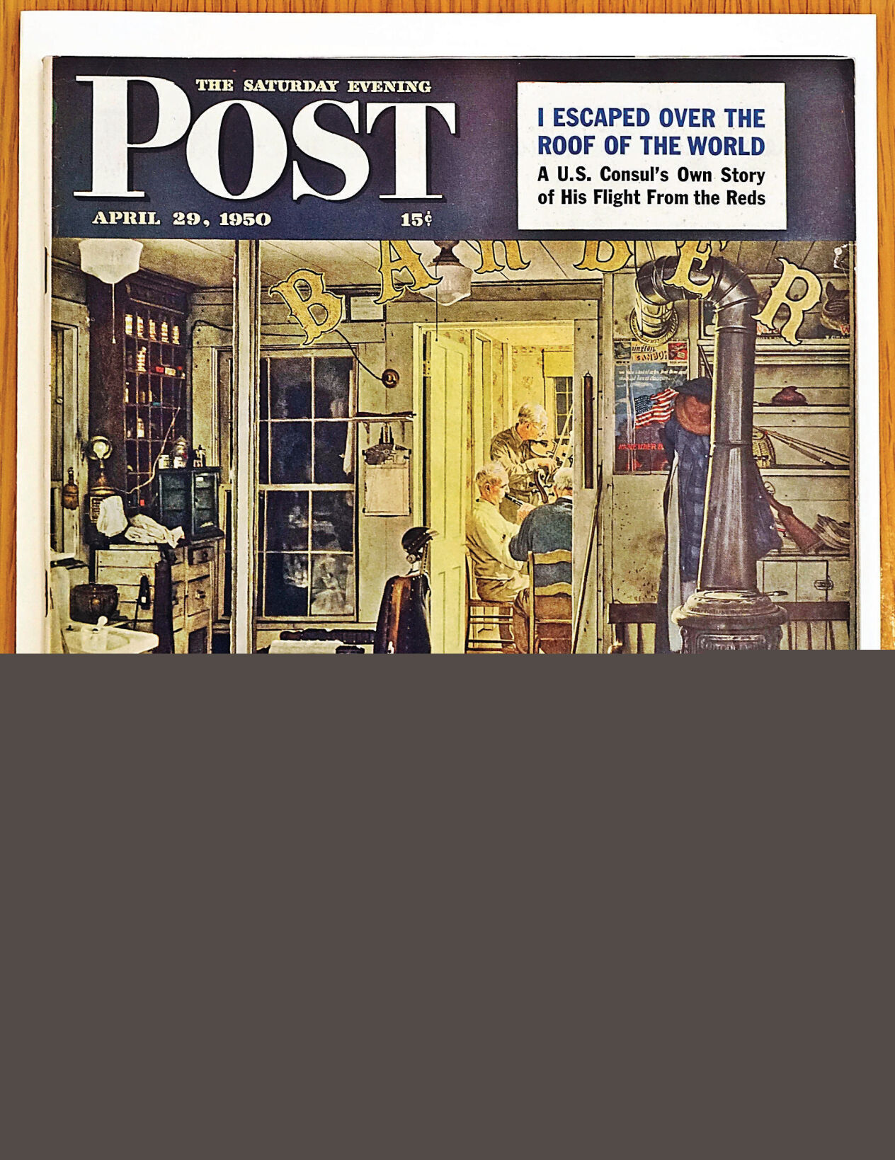 Rockwell sons oppose art sale: Want paintings to remain in public hands