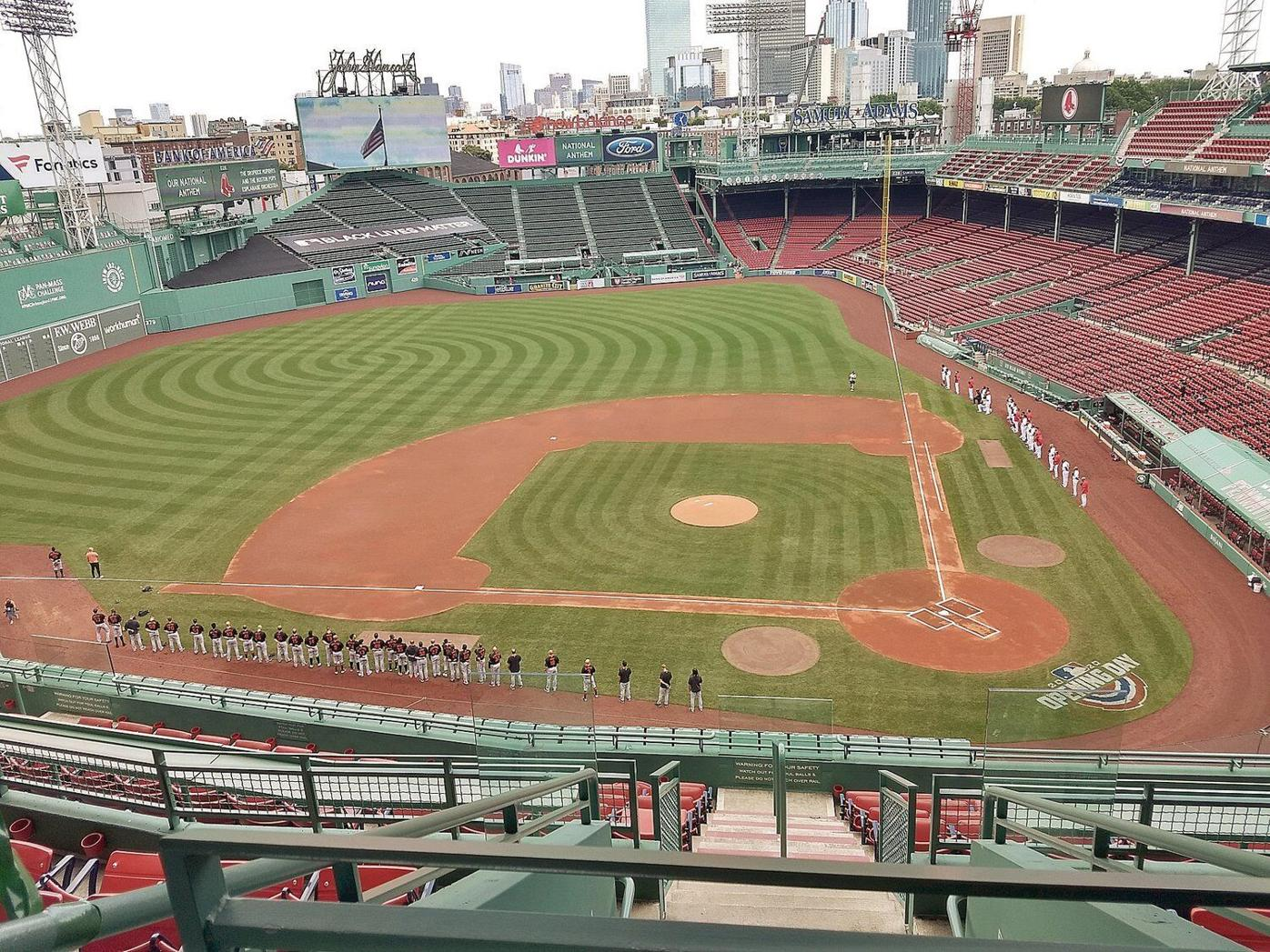 Howard Herman | Designated Hitter: Sights and sounds from fan-free Fenway Park