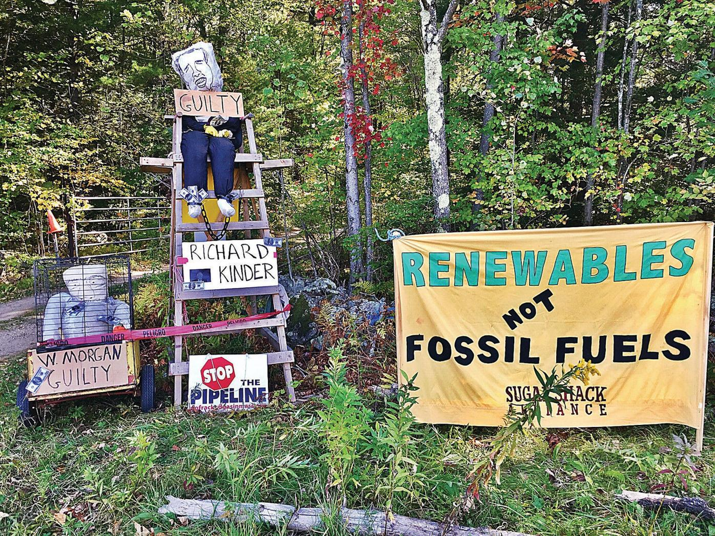 Activists relentless as Tennessee Gas tries to wrap up pipeline work, gas to flow in November