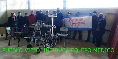 Berkshire Amistad collecting medical equipment for Honduras