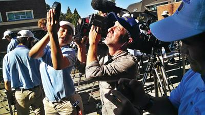 Eclipse No. 66 for Williams College's Jay Pasachoff, who took in celestial event from Oregon