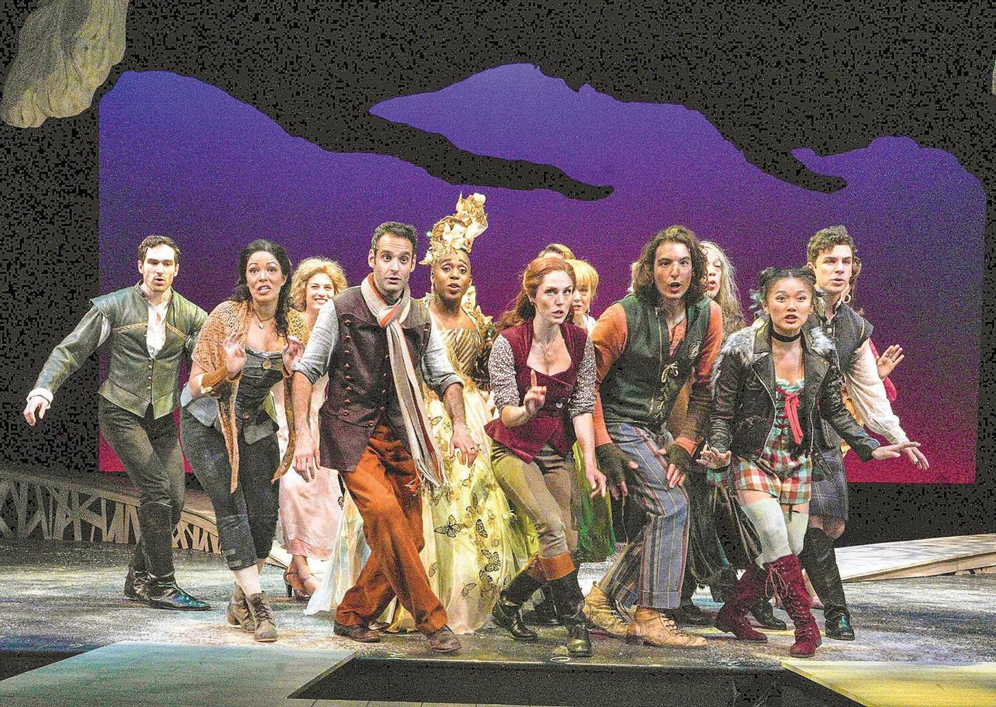 Barrington Stage Company journeys 'Into the Woods' and comes out a winner